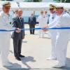 Comandante da Marinha inaugura Praça  no Centro de Instrução Almirante Wandenkolk