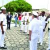 Comando do 9° Distrito Naval recebe  a visita do Prefeito de Manaus