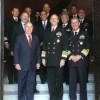 Visita  do  Comandante da Marinha dos  Estados Unidos da América à Embaixada do Brasil em Washington