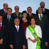 """Presidenta da República Dilma Rousseff e o Vice-Presidente Michel Temer são reempossados  para o segundo mandato, cujo o lema é """"Brasil, pátria educadora"""""""