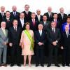 Presidenta Dilma Rousseff com seu novo ministério