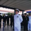 Vice Almirante Afrânio de Paiva Moreira Comandante do 3º DN presidiu a cerimônia de formatura dos marinheiros da turma Golf 2014 da EAM-CE