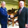 Vice-Presidente Michel Temer recebe  novo Comandante da Aeronáutica