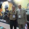 Editor da Folha Militar visita na LAAD  assessores dos Comandos Militares