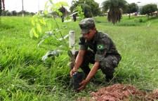 O Exército comemora o Dia Mundial do Meio Ambiente em 5 de junho
