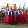 Centro de Tradições da EsPCEx se apresenta  na 27ª Festa de Nossa Senhora de Fátima