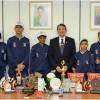 Alunos do Forças no Esporte são homenageados no Ministério da Defesa