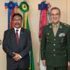 Ministro da Defesa do Timor-Leste  visita o Comandante do Exército