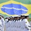 Ministro Aldo Rebelo participa com o Almirante Leal Ferreira da comemoração do Dia do Marinheiro
