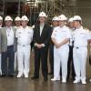 Ministro da Defesa e Comandante da Marinha  visitam o PROSUB
