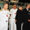 Ministro Aldo Rebelo conhece laboratórios  do Programa Nuclear da Marinha