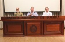 Apresentação do Comando e Direção da ESG aos estagiários do CAEPE