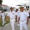 Esquadra recebe visita do Chefe do Estado-Maior da Marinha Nacional da França