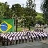 Incorporação dos novos recrutas no Comando Militar do Leste