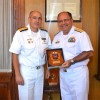 """Marinha do Brasil participa dos 188 anos da """"Prefectura Nacional Naval"""" do Uruguai"""