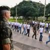 Novos recrutas são incorporados no Comando Militar do Oeste