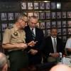 Presidente Michel Temer recebe bastão de comando do Alto-Comando do Exército