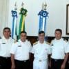Comando do 6º Distrito Naval recebe Comitiva da Armada Boliviana