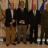 Ministros da Defesa e das Relações Exteriores se reúnem com comandantes das Forças Armadas
