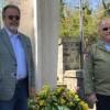 No Dia da Aviação de Caça, ministros visitam monumento a aviador brasileiro na Itália