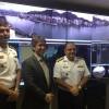 Comitiva da Diretoria de Portos e Costas  visita Porto de Vitória