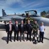 Novo modelo do Gripen é testado na Suécia