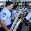 Bandas das Forças se apresentam durante comemoração do aniversário do MD