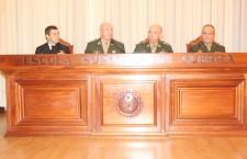 General de Exército Mauro Cesar Lourena Cid participa na ESG da solenidade de diplomação do Curso Superior de Inteligência Estratégica