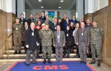Comissão Executiva da ADESG/RS e participante do 53° CEPEG de Porto Alegre visitam o Comando Militar do Sul
