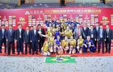 Atletas do Exército são Campeãs do Grand Prix de Vôlei na China