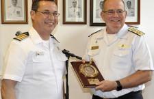 Escola de Guerra Naval recebe visita da Academia de Guerra Naval do Chile