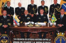 Marinha do Brasil participa da VIII Reunião de Estados-Maiores entre Brasil e Equador