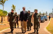 Ministro da Defesa visita novas instalações do Comando de Defesa Cibernética