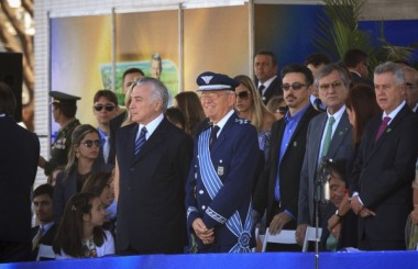 Desfile de 7 de setembro reúne 40 mil pessoas em Brasília