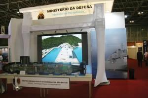 Marinha expõe projetos na maior feira de segurança e defesa da América Latina