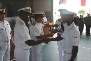 Cerimônia do Curso de Formação de Marinheiros para a República da Namíbia