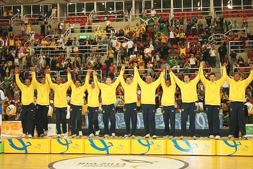 Ouro no basquete