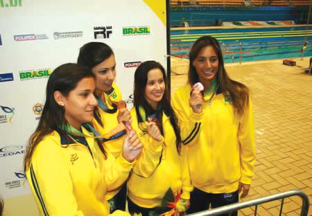 Natação do Brasil conquista 30 medalhas