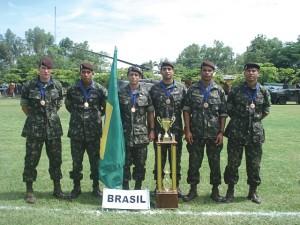 Competição Militar Fuerzas Comando 2011