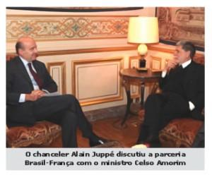 Celso Amorim visita estaleiro francês envolvido na  construção dos novos submarinos brasileiros