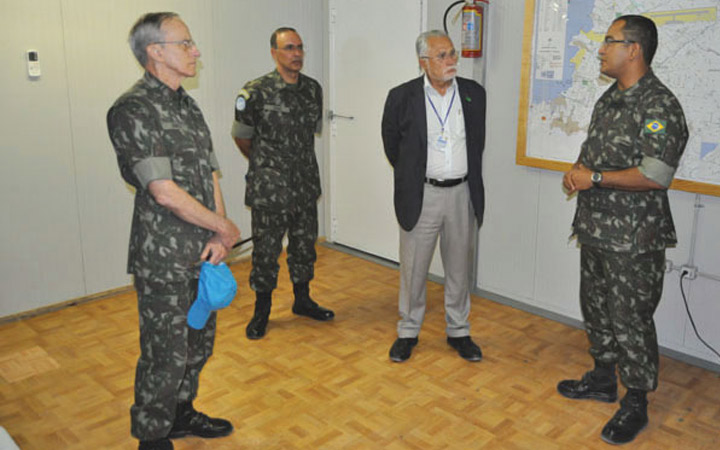 BRAENGCOY recebe visita do  Comandante do Exército