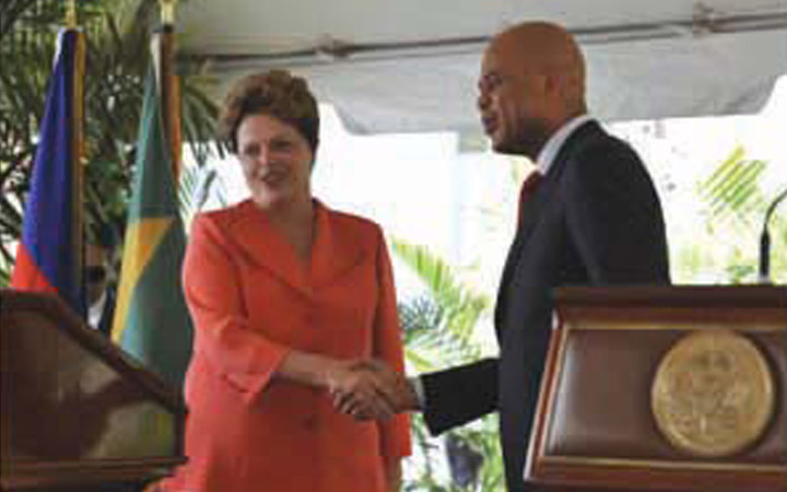 Presidenta Dilma enaltece trabalho dos militares brasileiros no Haiti