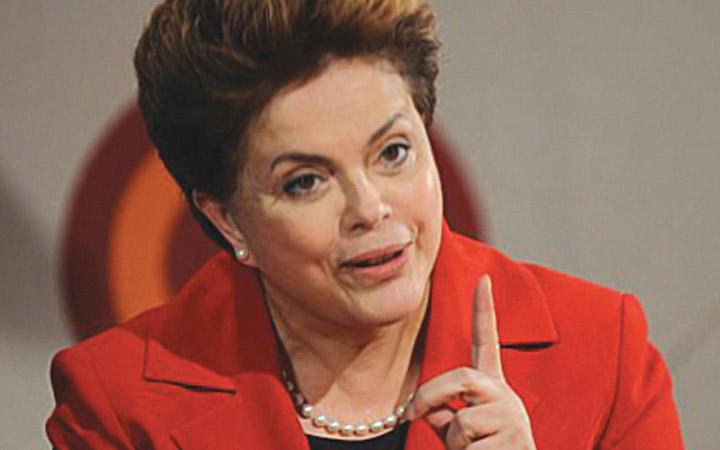 Dilma Roussef 1º mulher Presidenta do Brasil