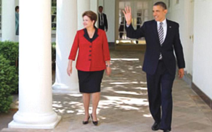 Presidentes Dilma e Obama lançam  bases para nova cooperação  bilateral em defesa