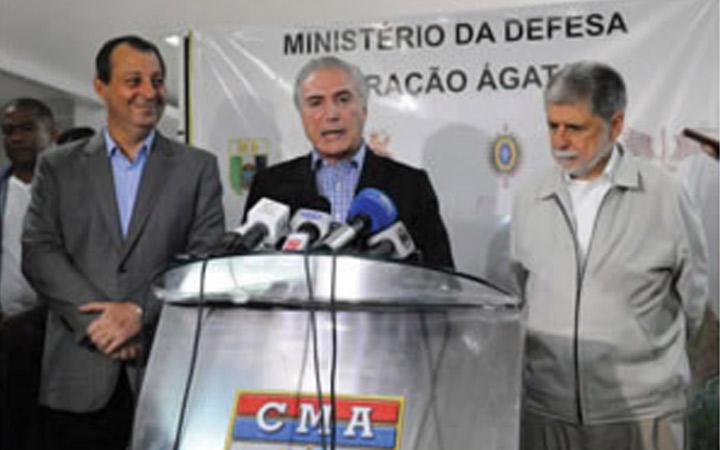 Para Amorim, Operação Ágata  marca a presença do Estado nas fronteiras