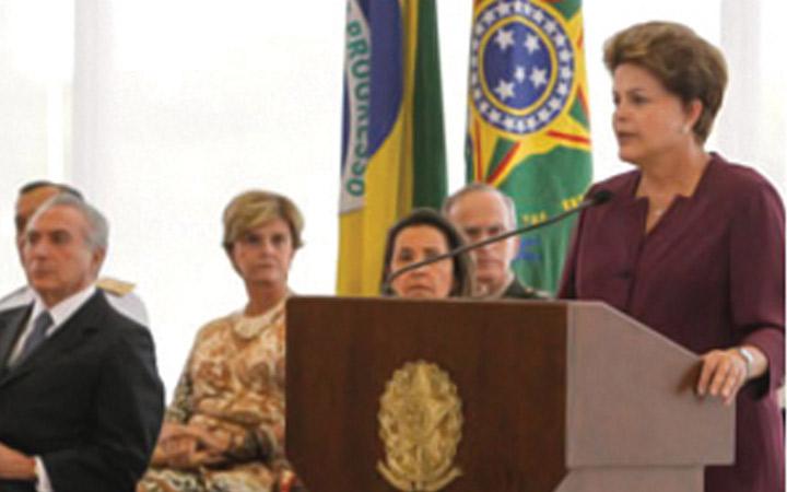 Dilma Rousseff destaca importância do país ter capacidade dissuasória e defende modernização das Forças Armadas