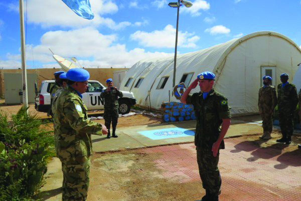 Major da FAB Adriano Maia Ribeiro de Azevedo vai comandar base da ONU no Saara Ocidental