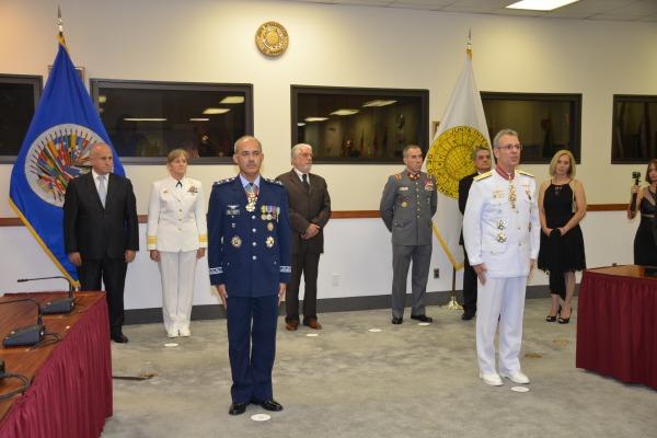 Major-Brigadeiro Maurício Ribeiro Gonçalves assume o cargo de Diretor-Geral da Secretaria da Junta Interamericana de Defesa
