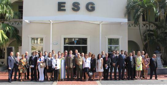 Escola Superior de Guerra recebe a visita  da ADESG Uberlândia/MG