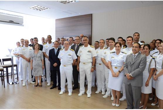 SecCTM da Marinha recebe a visita  do Chefe do Estado-Maior da Armada